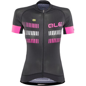 Alé Cycling Graphics PRR Strada Short Sleeve Jersey Women black-fluo pink-white